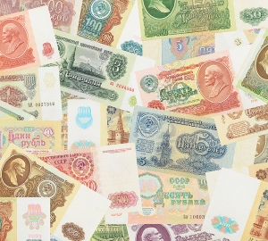 Советские деньги 2 300х270 см