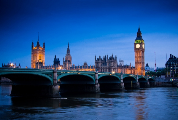 Ночной Лондон 400х270 см