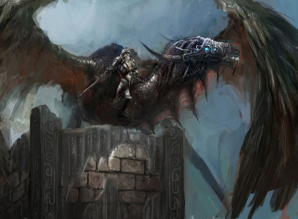 Дракон рисунок 200х147 см