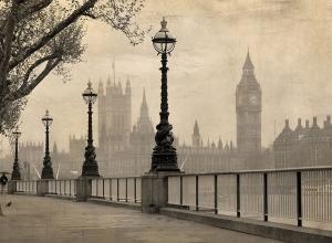 Лондон сепия 200х147 см