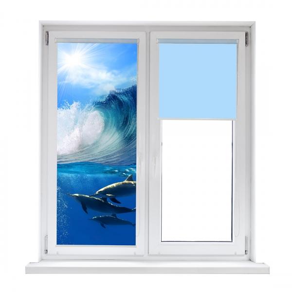 Рулонные шторы DIVINO DelDecor/Мини шторыMRB-0197 (02 Термо-Блэкаут, 72(68)x170 см)
